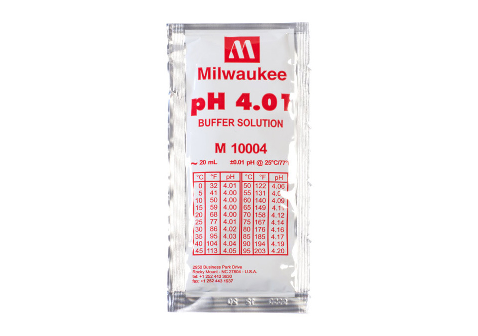 Milwaukee Kalibreringsvätska pH4.01 20ml