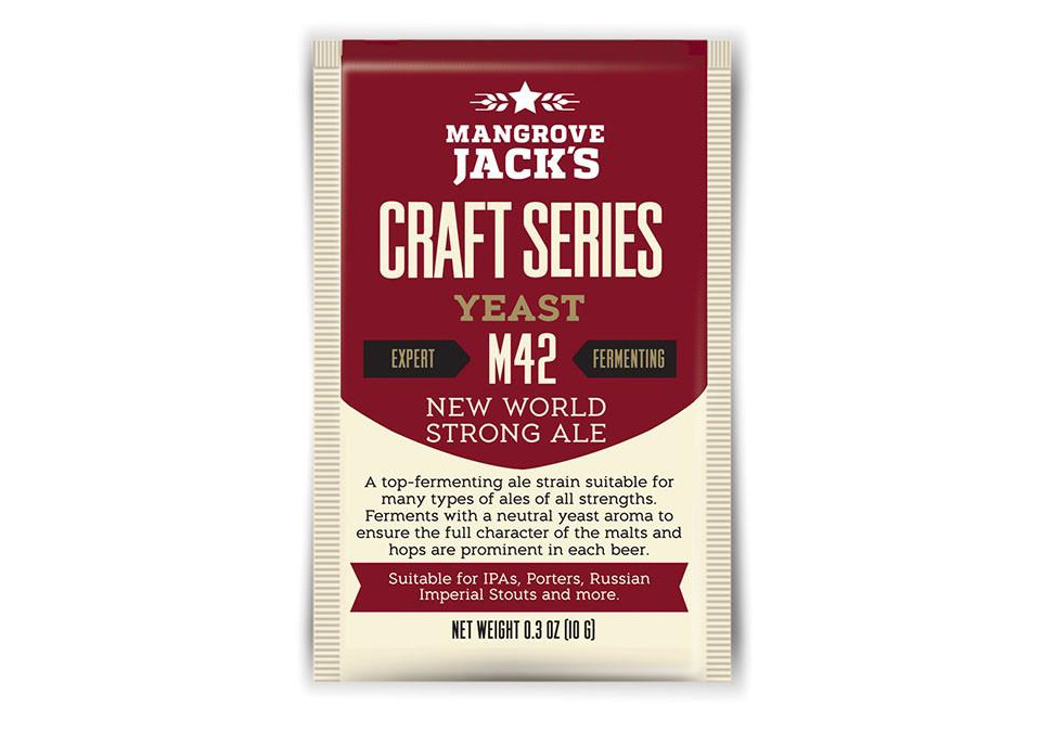 Mangrove Jack's M42 New World Strong Ale Jäst