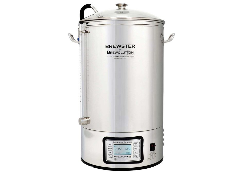 Brewolution Brewster Beacon Bryggverk 40L