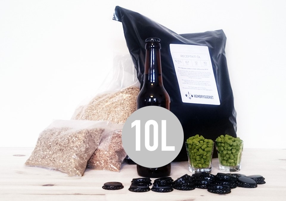 Black Currant Sour 5% Receptkit 10L