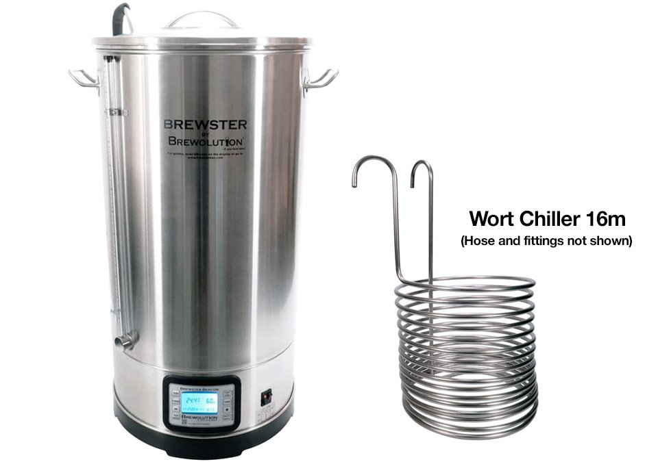 Brewolution Brewster Beacon Bryggverk 70L med ChillerSet
