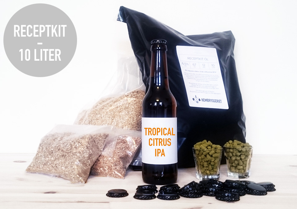 Tropical Citrus IPA 6,5% Receptkit