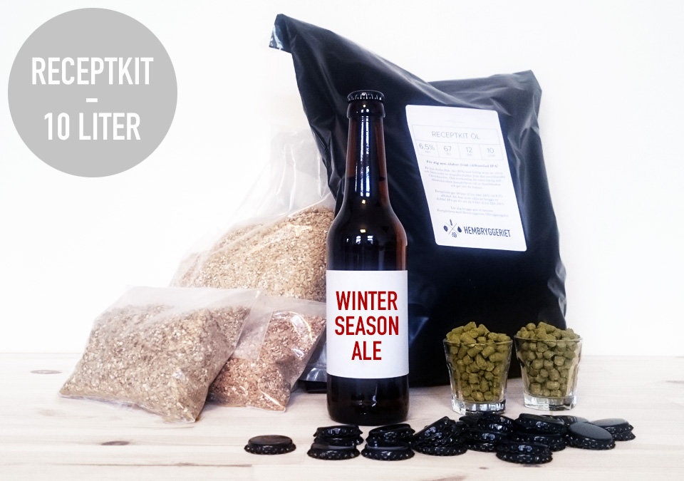 Winter Season Ale 6% Receptkit 10L