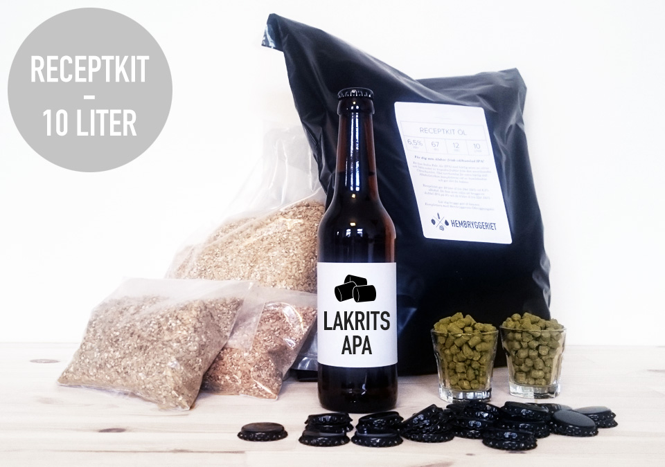 Licorice APA 5,5% Receptkit